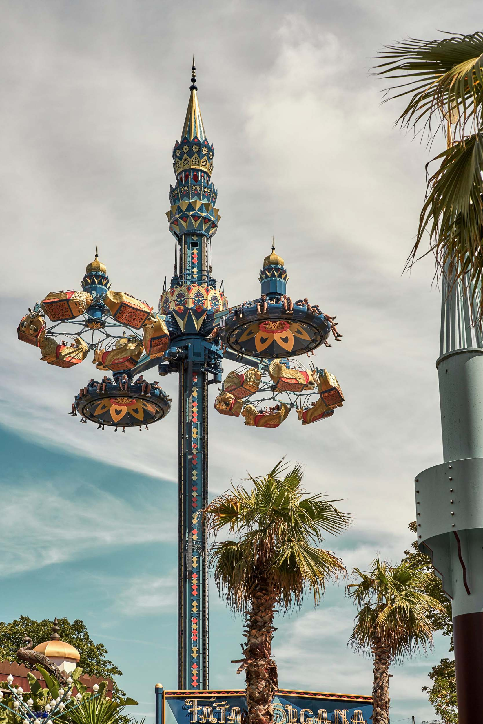Do you have 3 days in Copenhagen? Spend a night at Tivoli, anamusement park right in the center of the city!