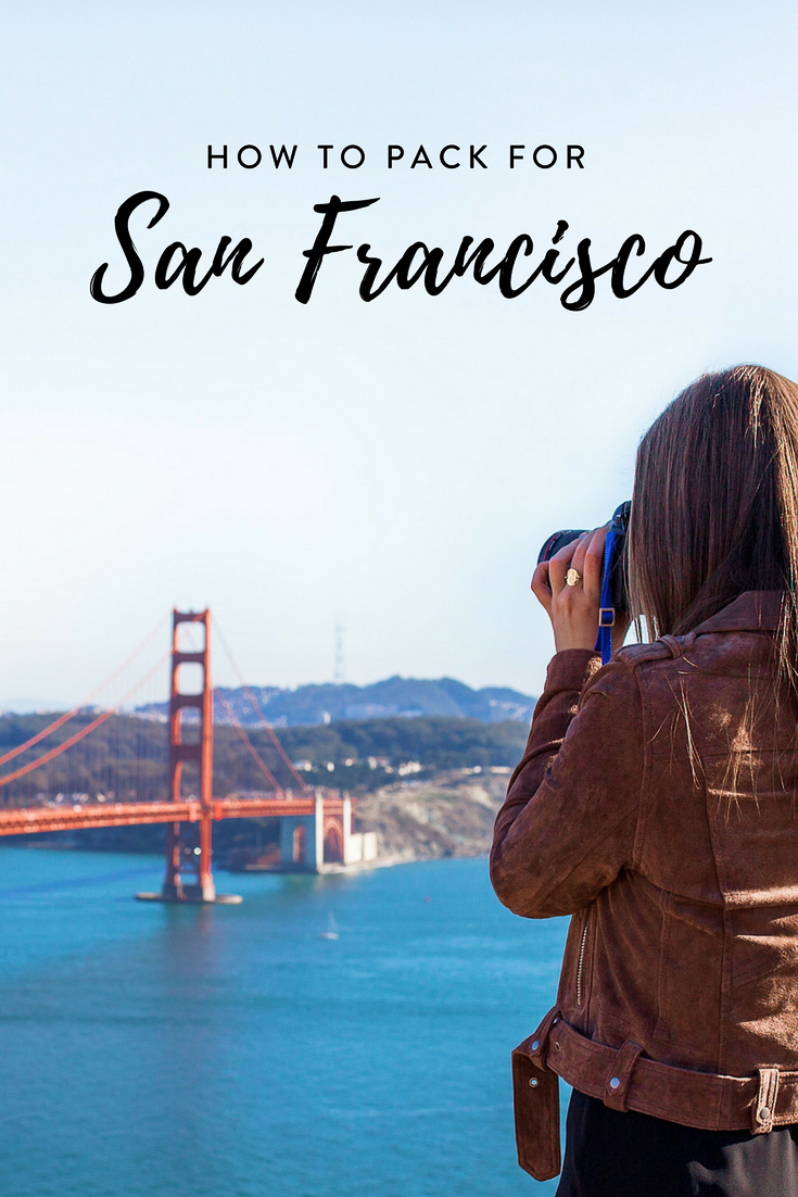 Heading to the bay area and wondering what to pack? This is the ultimate San Francisco packing list, including a free printable checklist!