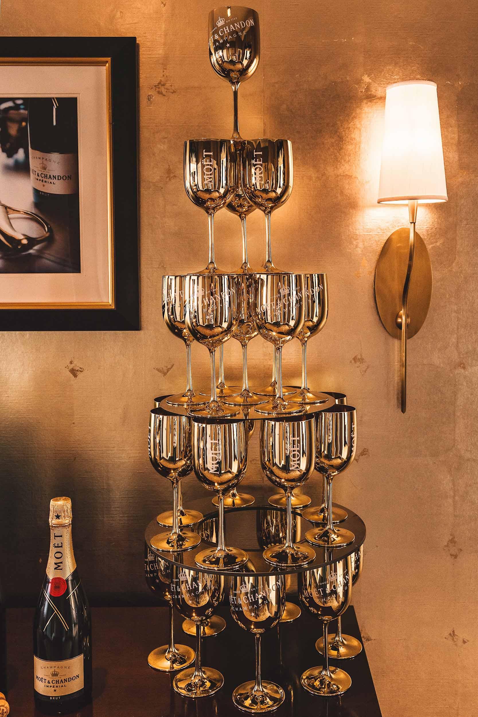 TheMoët & Chandon-inspired Sparkle Suiteat the Fairmont San Francisco