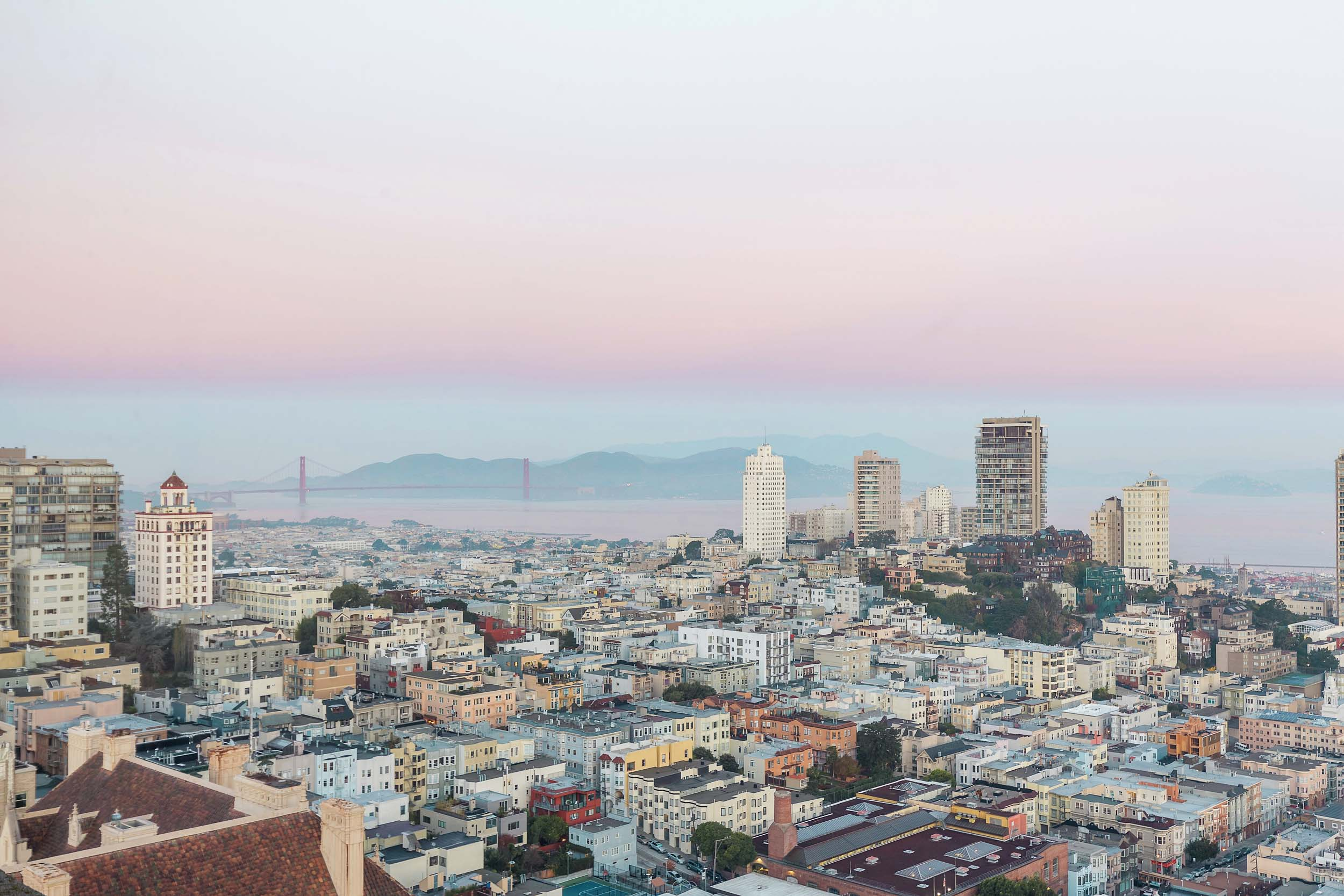 Jaw-dropping 270-degree views of San Francisco from the Fairmont San Francisco