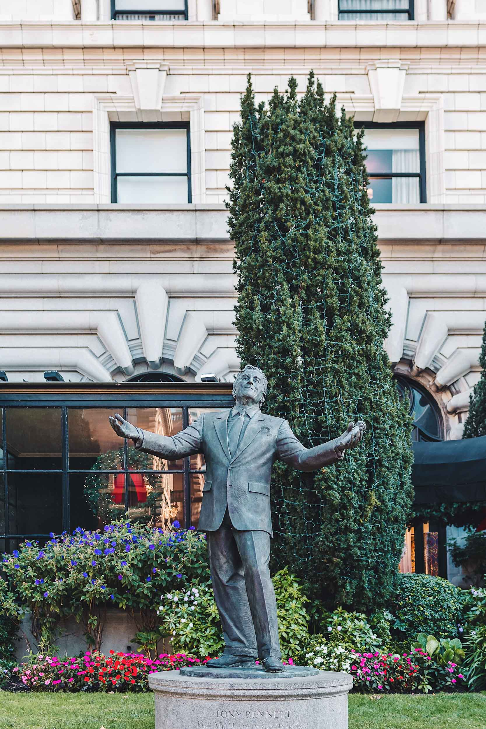 Tony Bennet left his heart in San Francisco (at The Fairmont!)