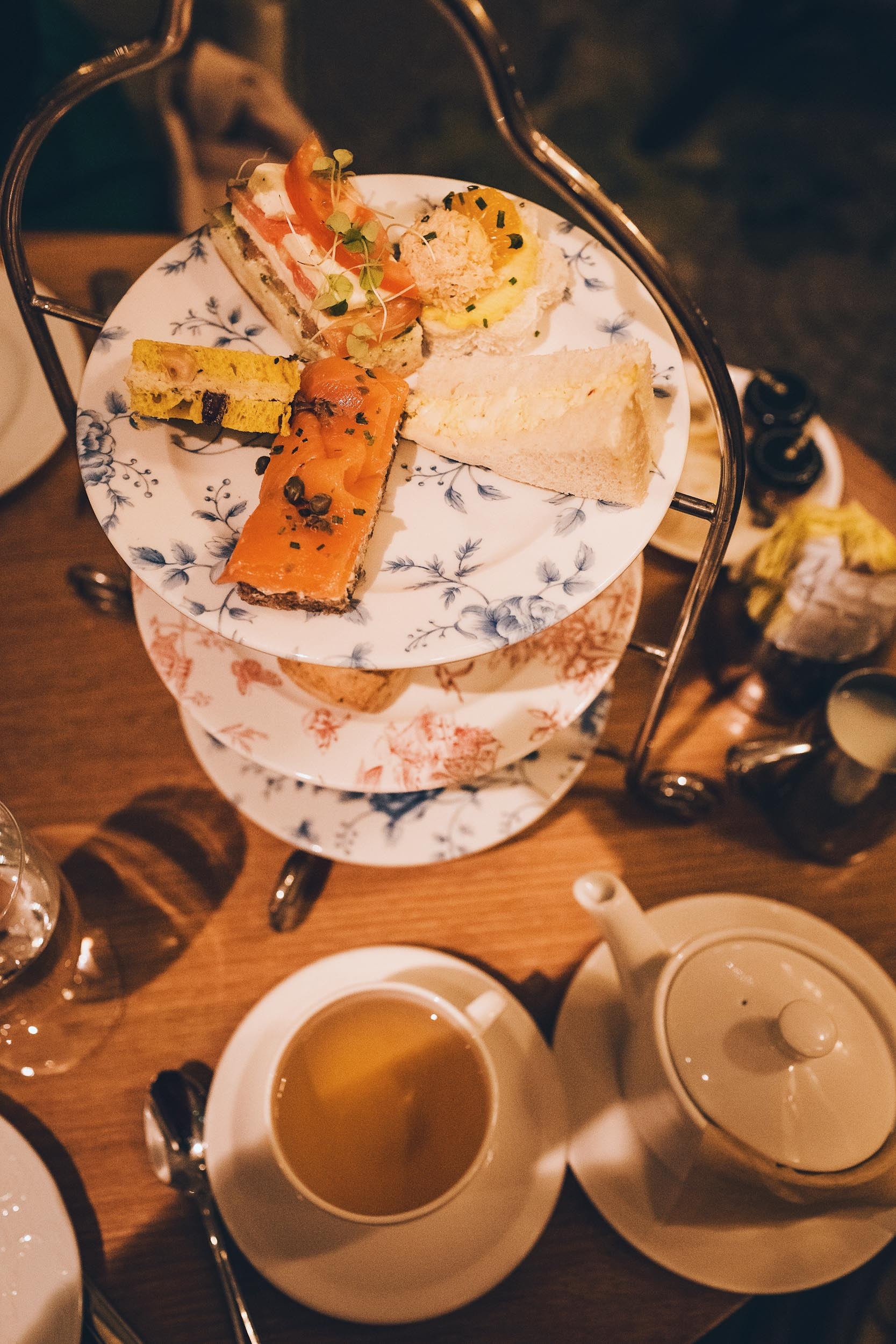 Afternoon Tea at the Fairmont San Francisco - an absolute must to all visitors of the bay!