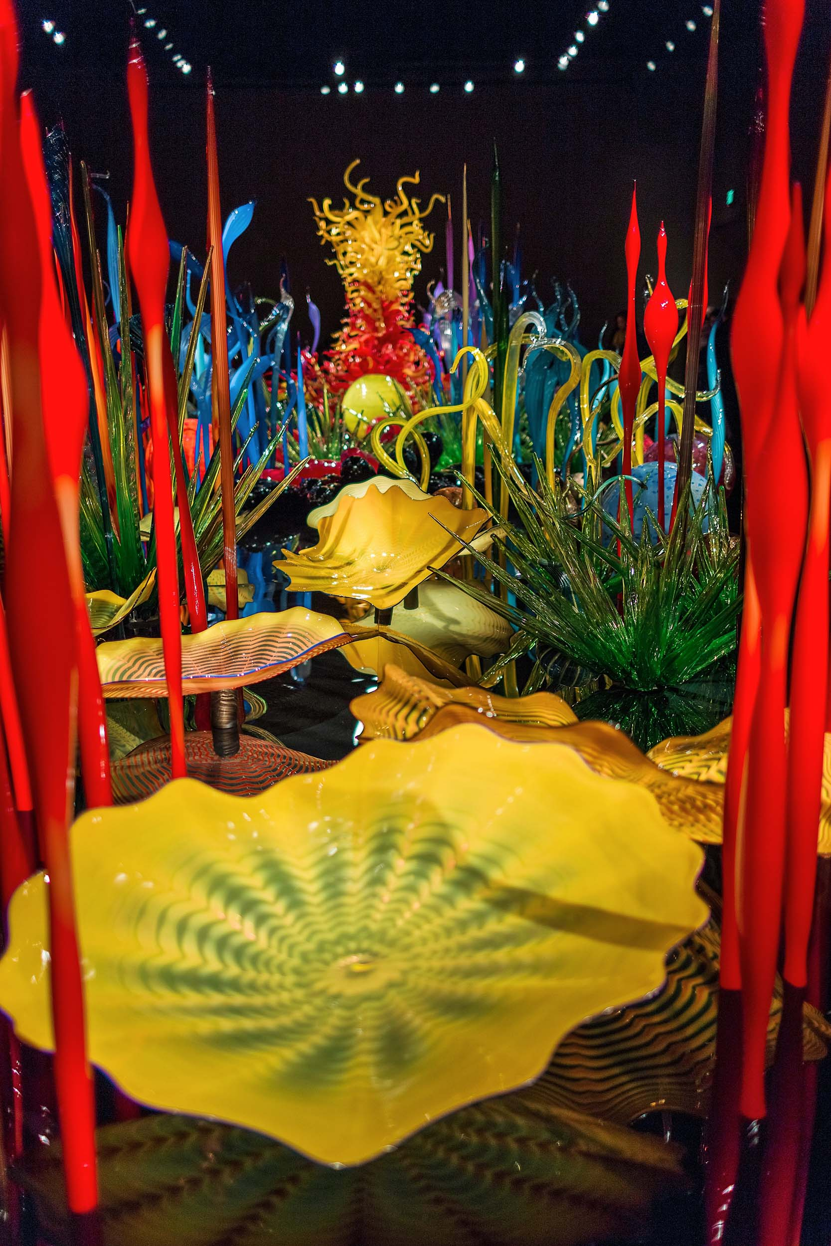Chihuly Garden and Glass in Seattle is an absolute can't miss!