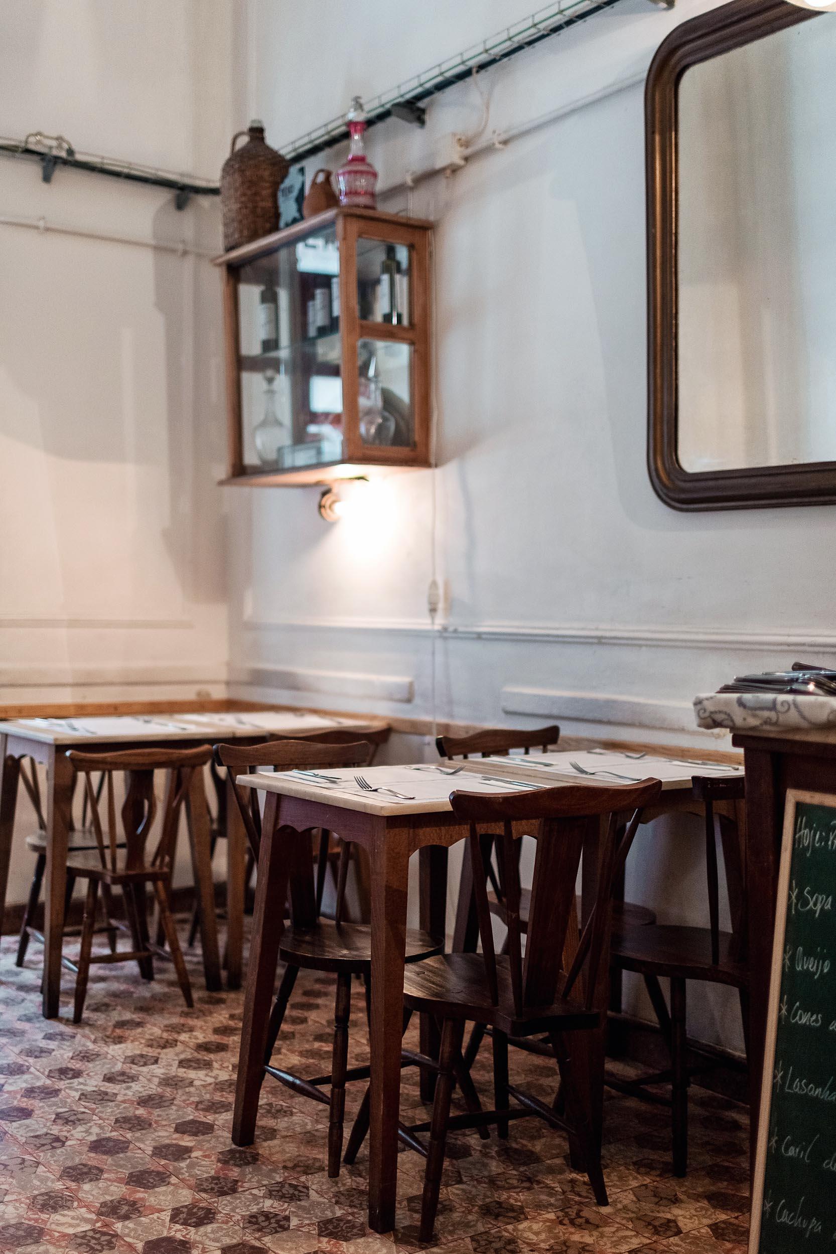 One of the best restaurants in Lisbon, Portugal: Taberna da Rua das Flores