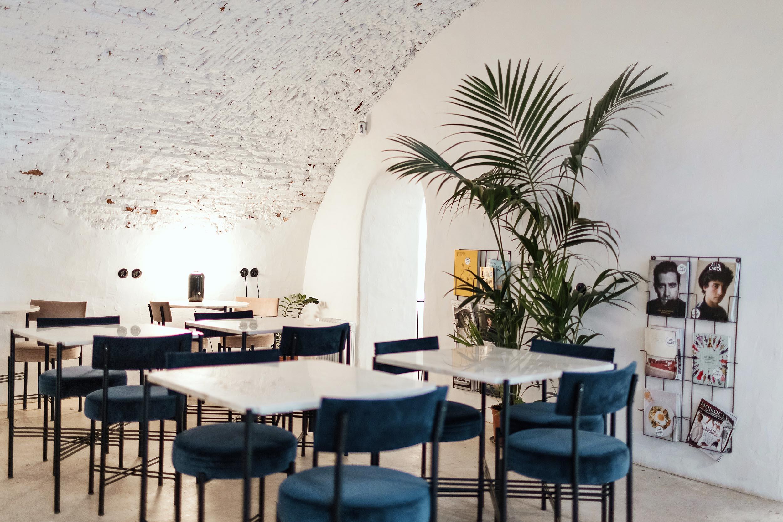 The chicest restaurant decor in Lisbon at Dear Breakfast