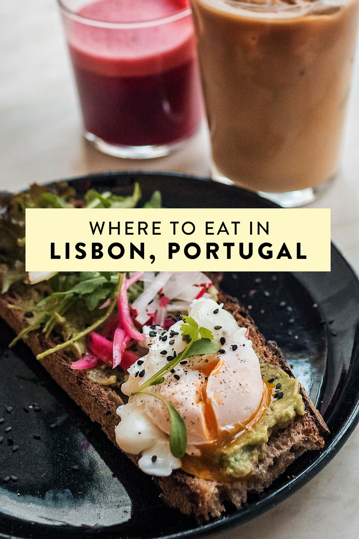 Where to eat in Lisbon, Portugal. The best restaurants featuring Portuguese food, seafood, all day breakfast, all natural gelato, and more!