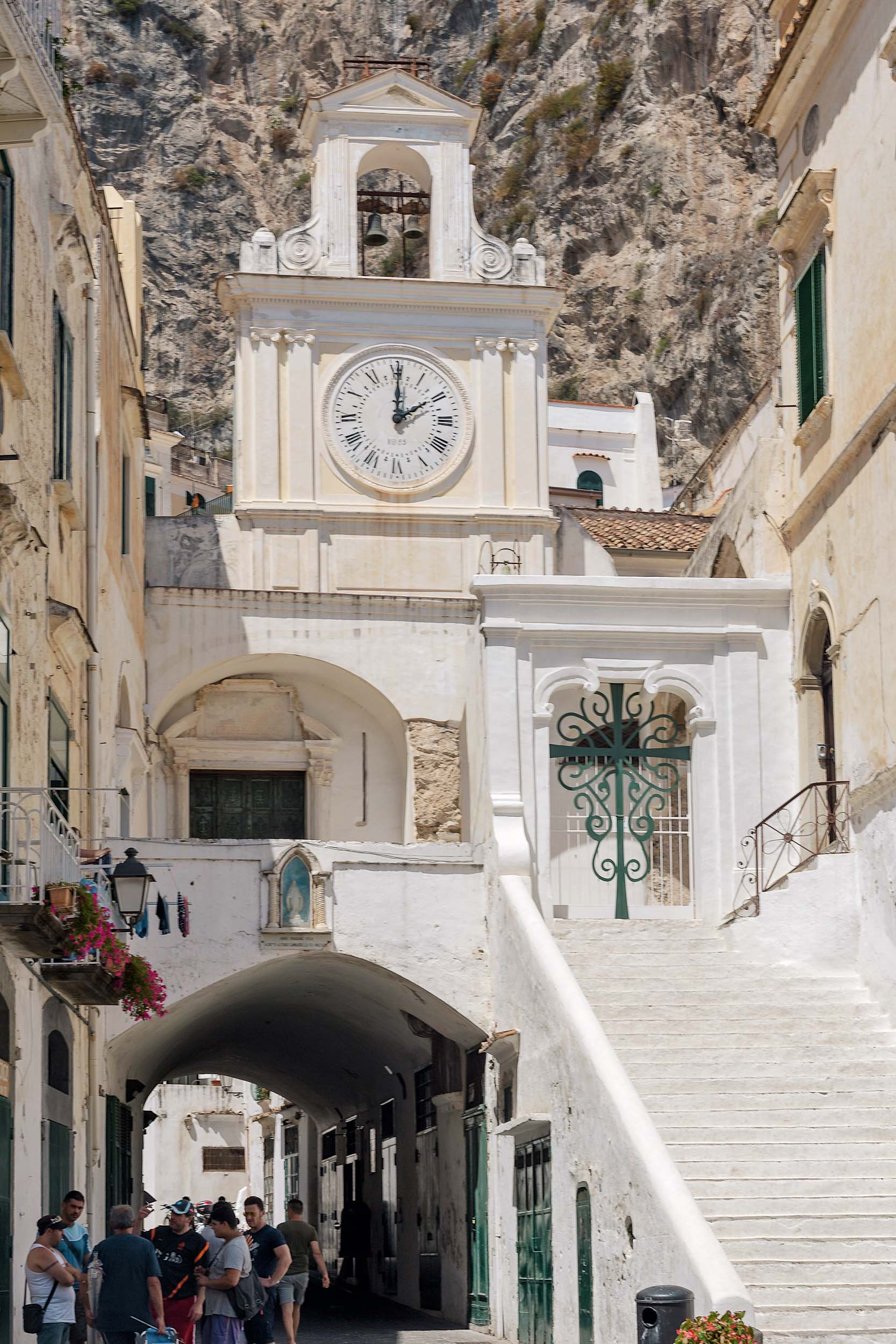 Amalfi Coast Italy Map - Top Towns to Visit