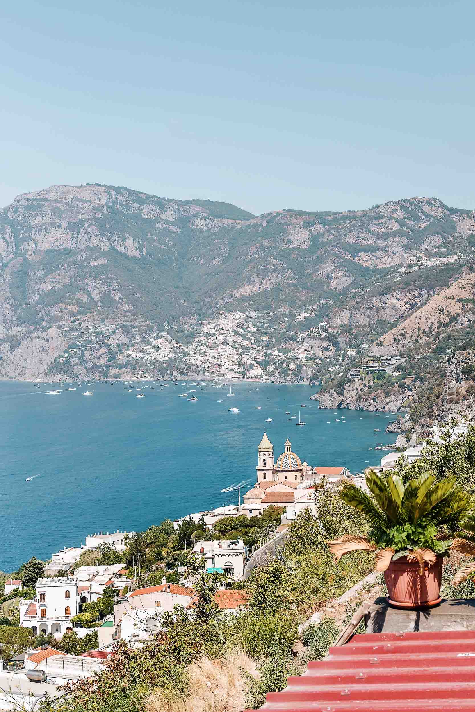 A map of the best Amalfi Coast Italy towns