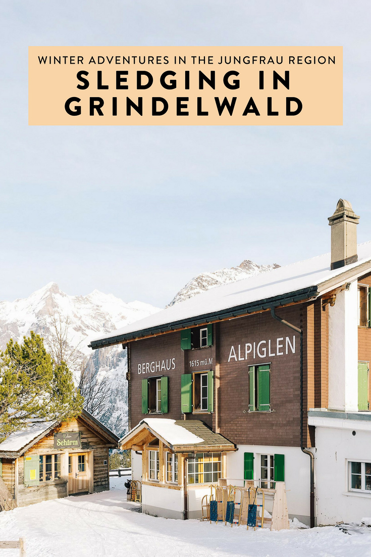 Switzerland and the Jungfrau Region in particular is a winter adventurer's dream. But, of all the epic adventures I went on, sledging in Grindelwald was my favorite! Here's how to recreate the magic.