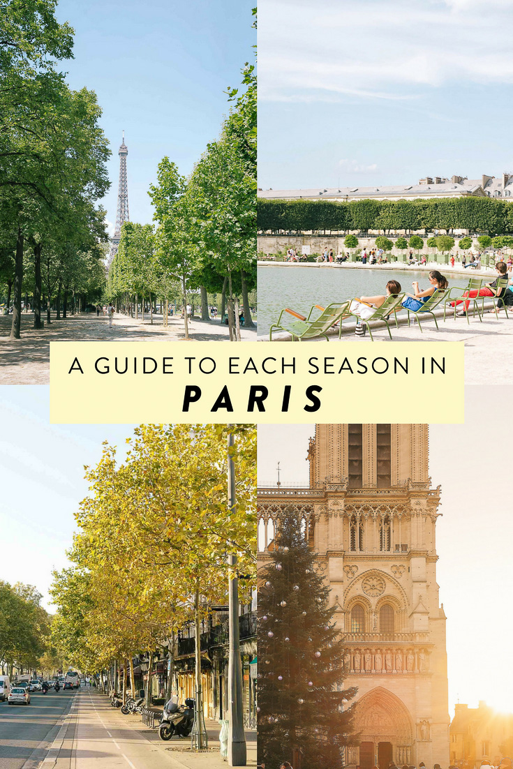 So Paris is always a good idea, but when is the best time to visit, really? Here's a guide to visiting the city of lights, broken down by season