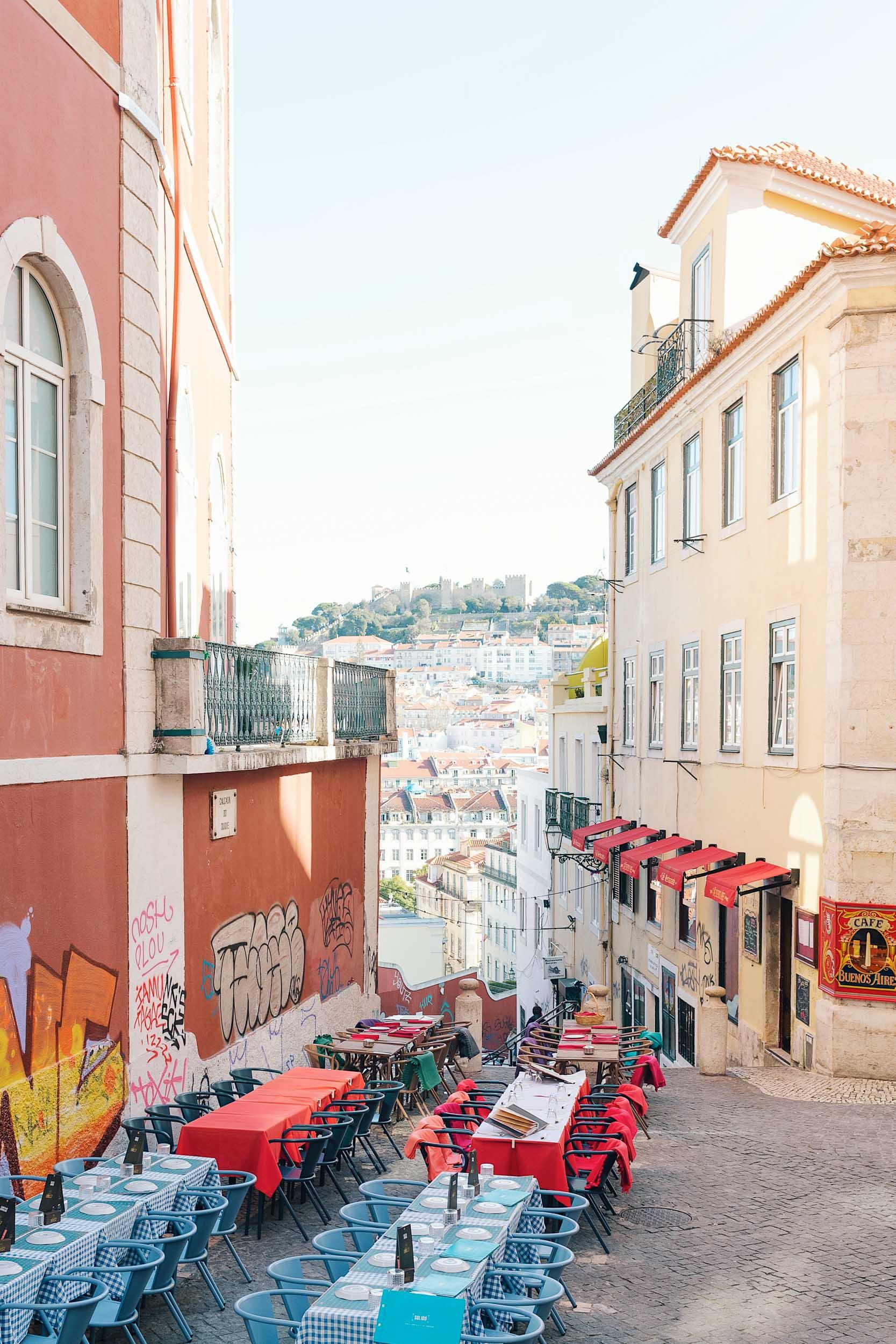 Chiado in Lisbon