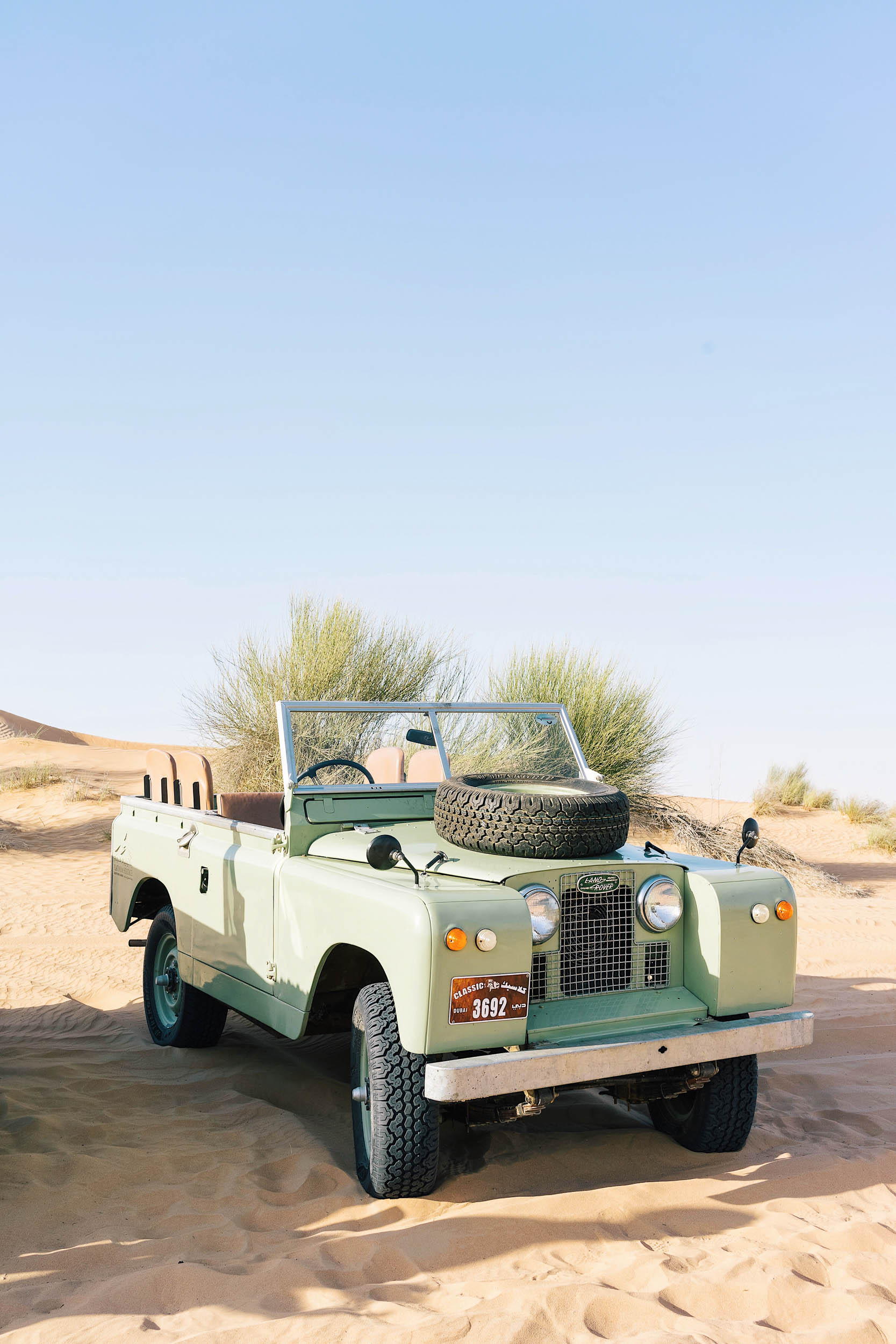 Platinum Heritage is the the world's only safari to use 1950's museum quality, vintage Land Rovers