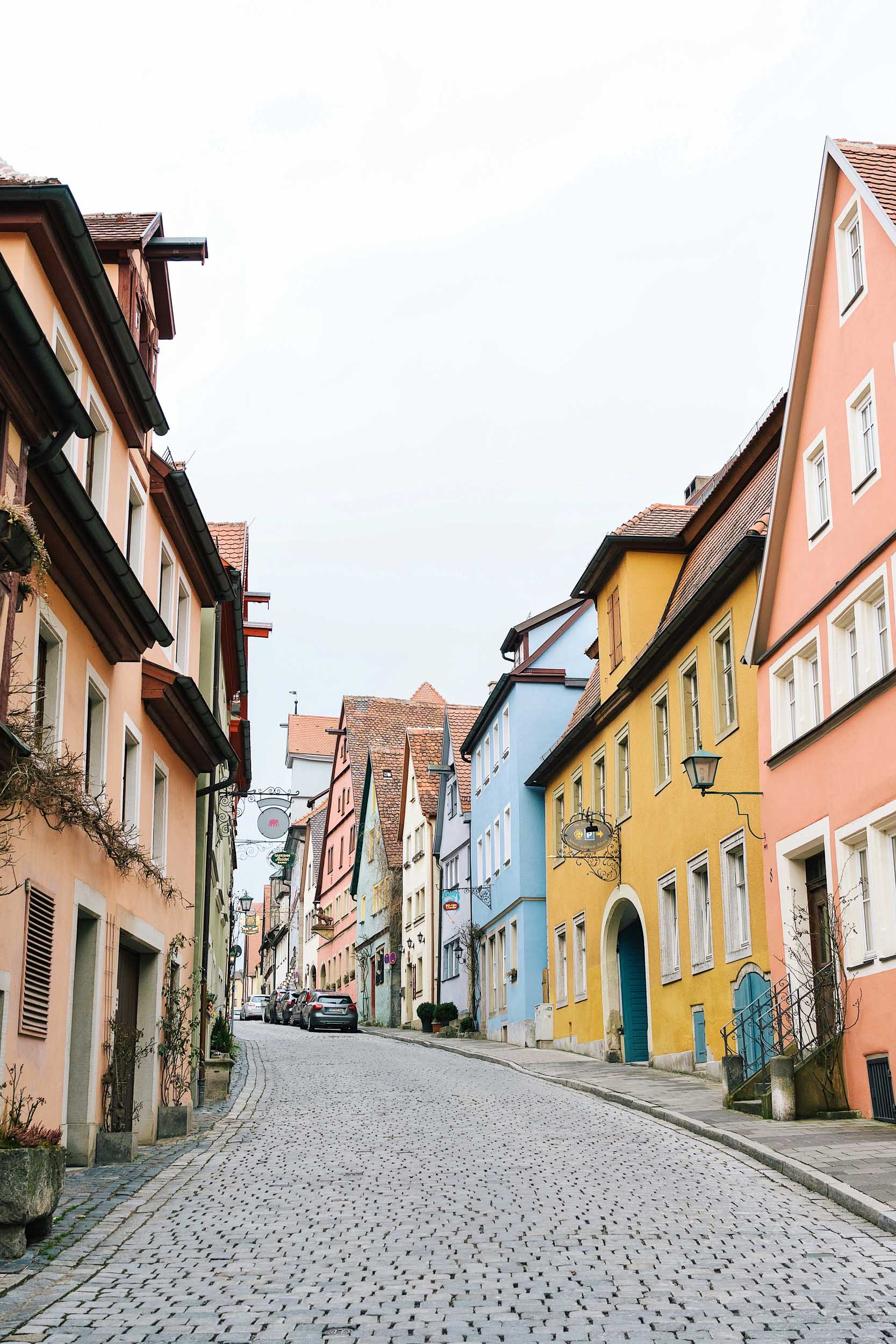 Rothenburg ob der Tauber in Germany's Bavaria region is a real life fairytale