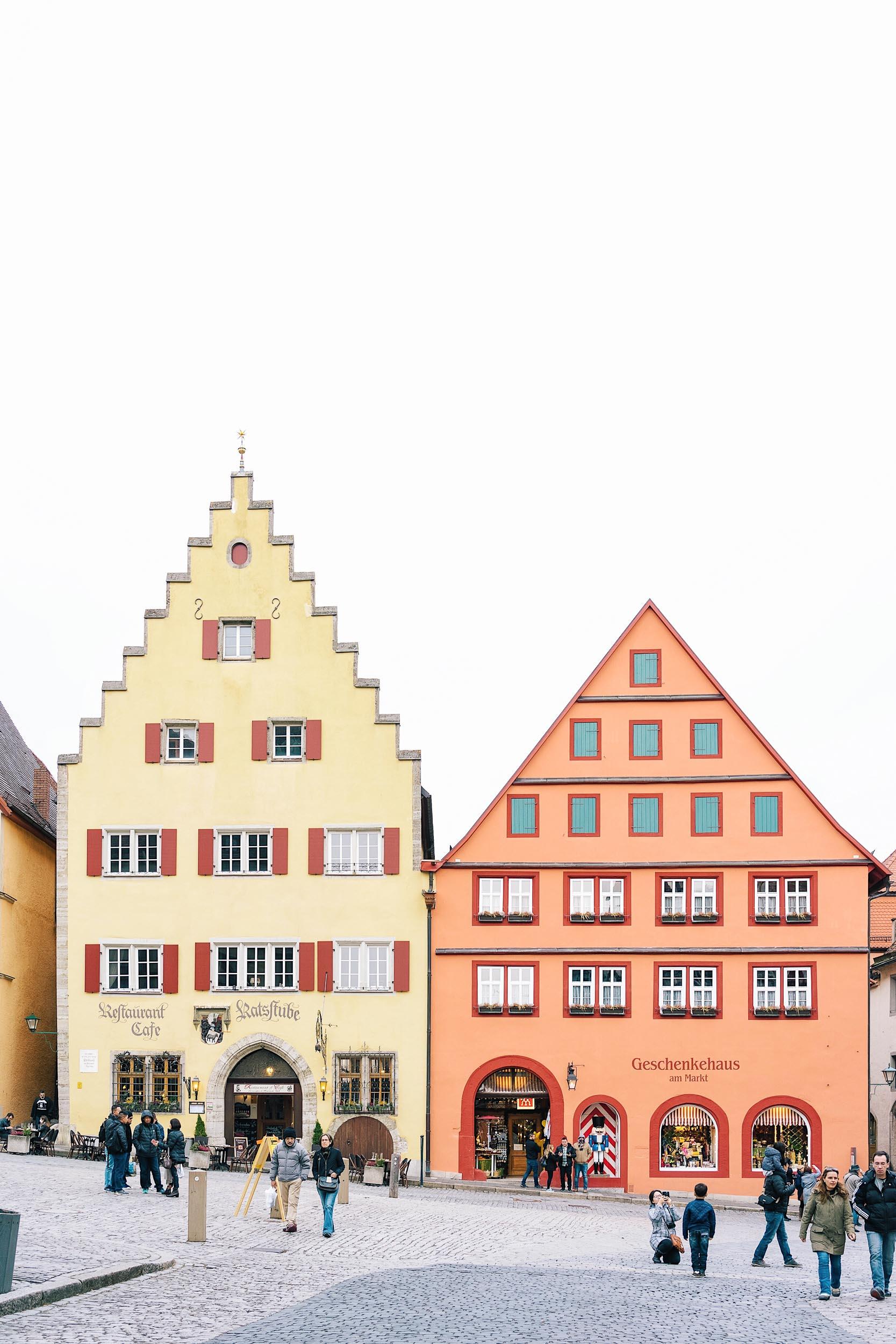 Marktplatz in Rothenburg