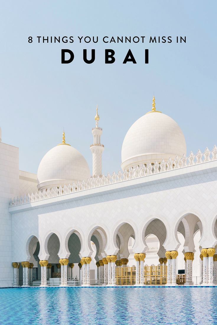 Heading to Dubai and wondering what to do? I have narrowed down my list to 8 things you absolutely cannot miss! The best non-cliche, off-the-beaten-path things to see, do, eat, and drink.
