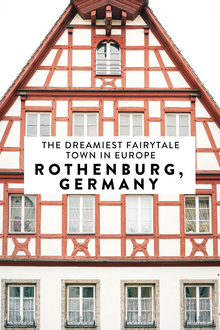 Looking for the cutest real life fairytale town in all of Europe? Rothenburg, Germany is the dreamiest medieval town you'll ever lay your eyes on.