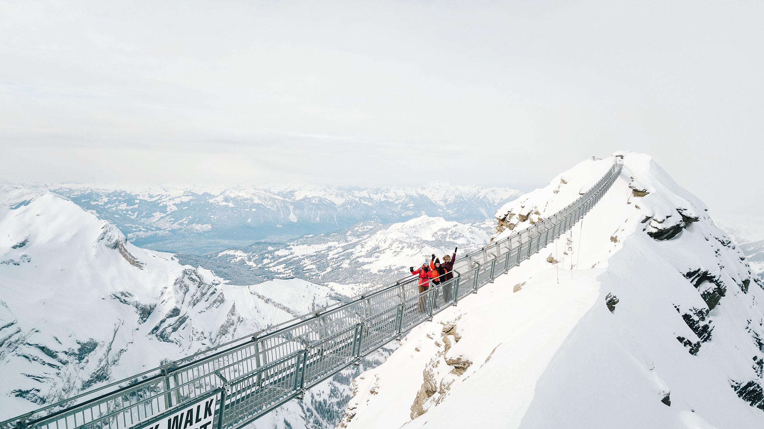 Glacier 3,000 Peak Walk in Gstaad