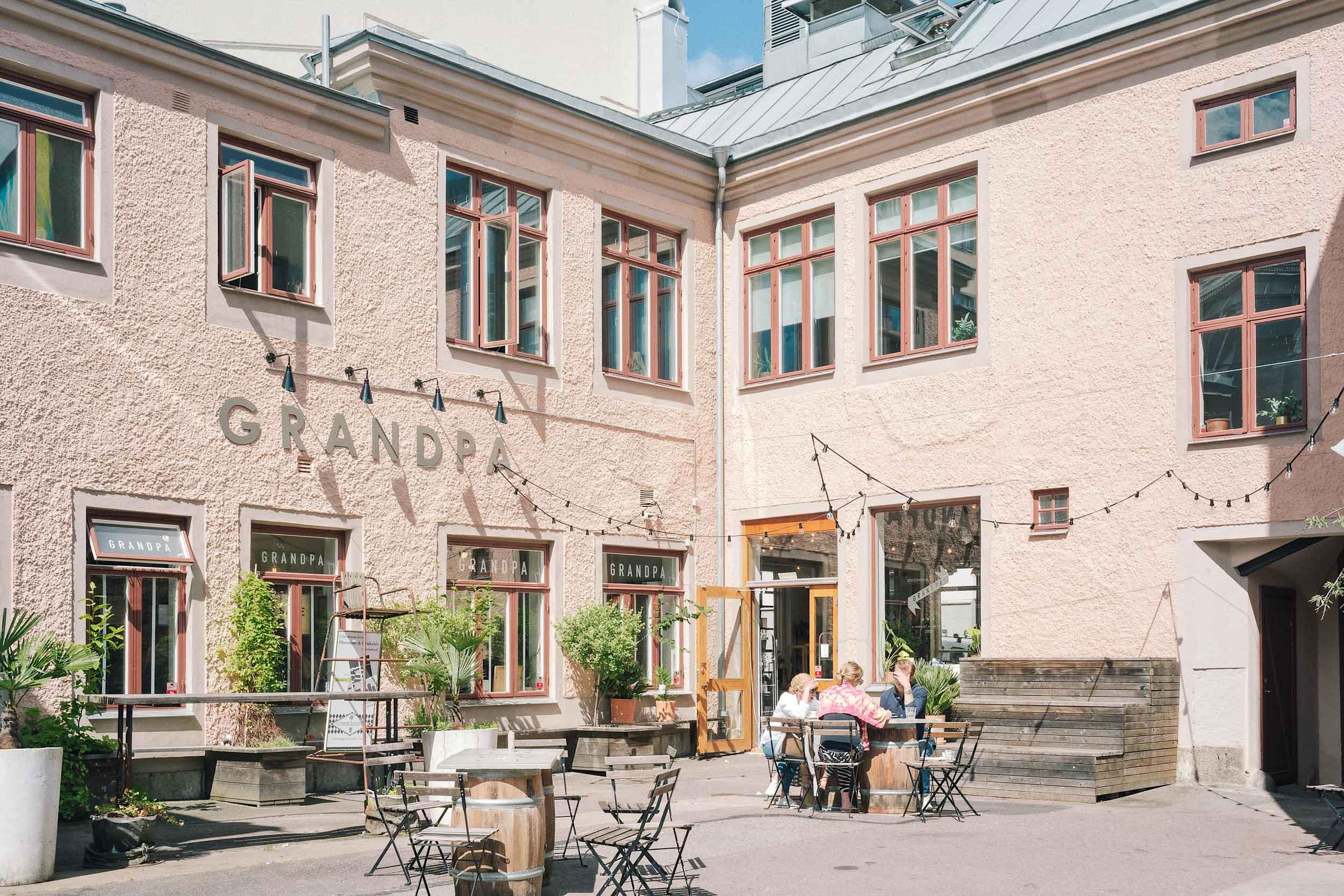 Grandpa in Gothenburg, Sweden