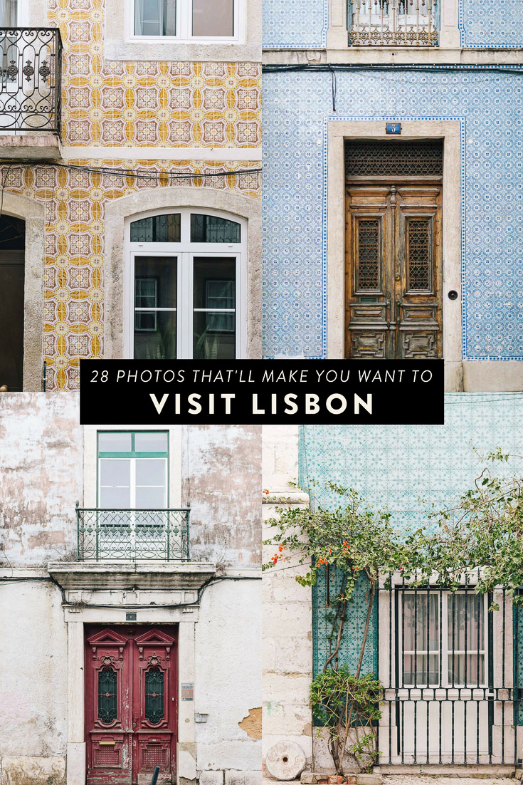 Thinking about visiting Lisbon, Portugal? Here are 28 photos that will make you want to visit and inspire you to book a trip ASAP!