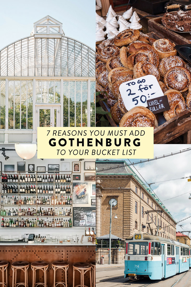 7 reasons you MUST add Gothenburg in West Sweden to your bucket list! Plus where to stay, eat, drink, and what to do. #gothenburg #sweden #scandinavia