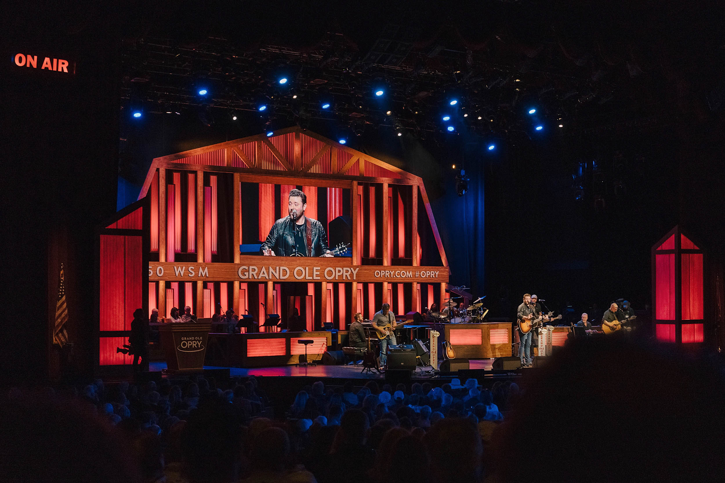 Chris Young headlining at show at the Opry