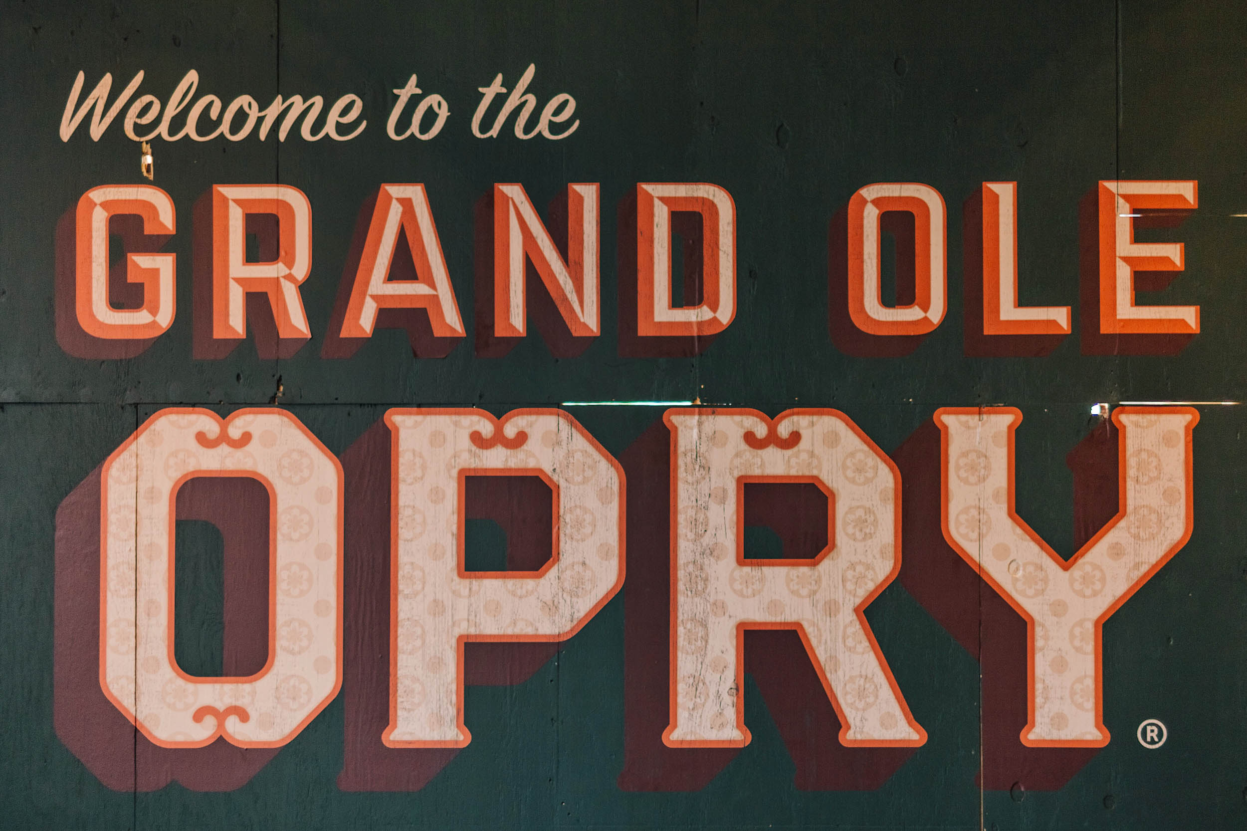 Welcome to the Grand Ole Opry