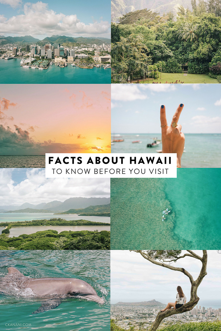 Facts about Hawaii to know before you visit. Get a high-level overview of the state, learn about the language, the weather, and the 8 main islands! #hawaii