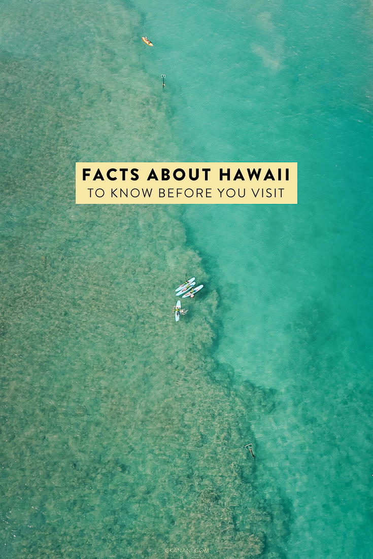Planning a trip to Hawaii? There are many facts you'll want to know before you go. Learn about the history, the islands, the language, the weather, the food, and more! #hawaii
