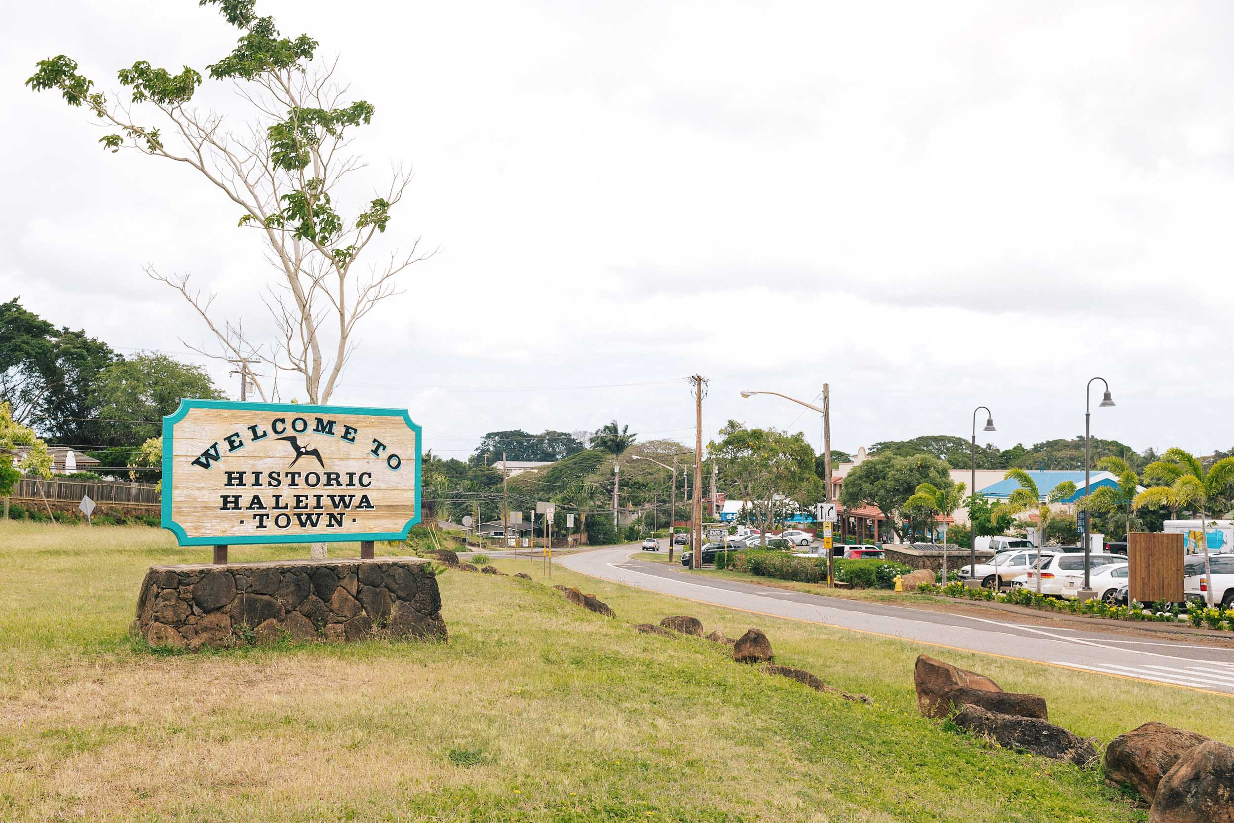 Welcome to historic Haleiwa Town!