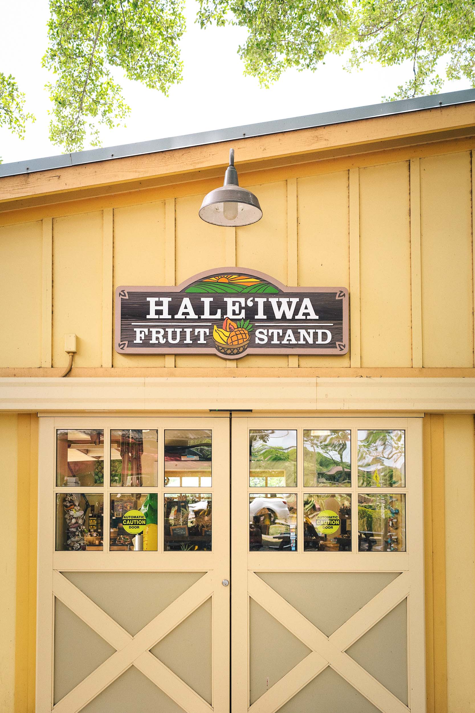 Haleiwa Fruit Stand at Haleiwa Store Lots