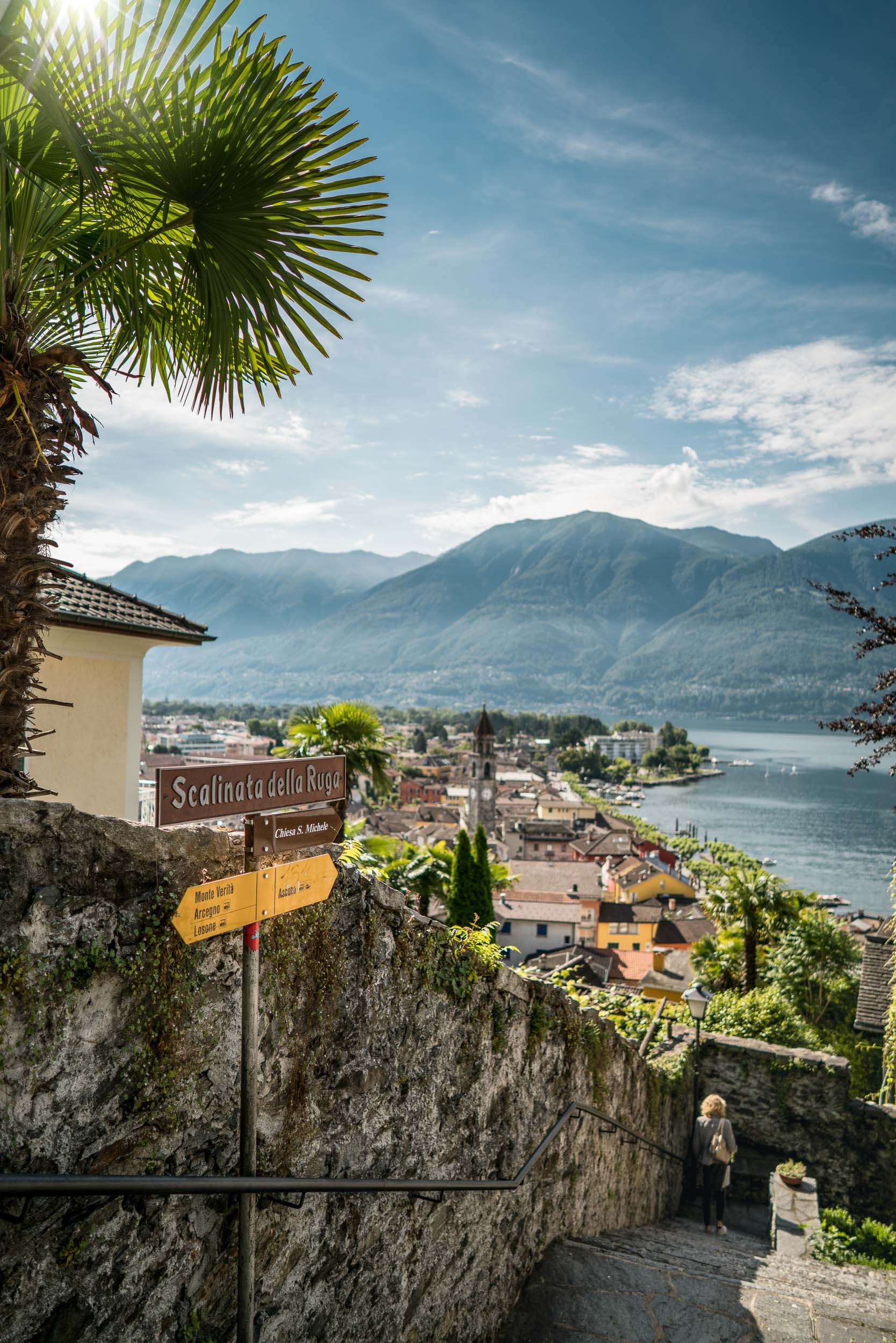 View over Ascona and Lake Maggiore. Copyright by: Switzerland Tourism
