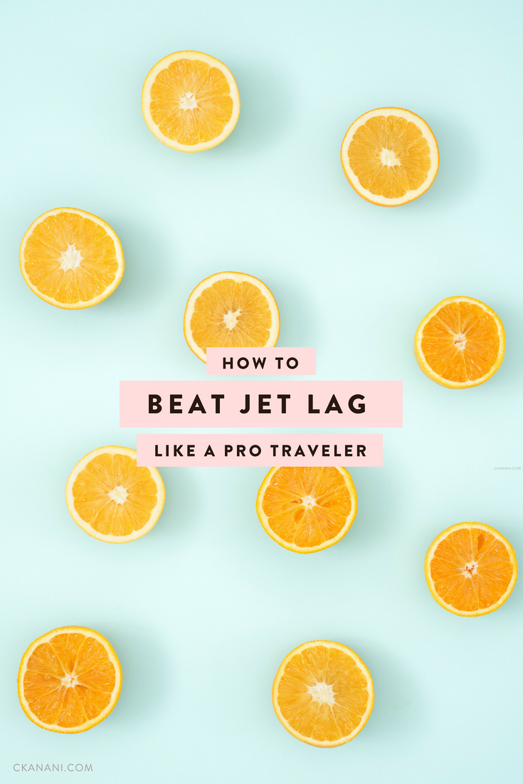 The best tips and tricks for beating jet lag! Everything I do to successfully avoid getting jet lag time and time again, regardless of where I am traveling to. #jetlag #wellness #travel