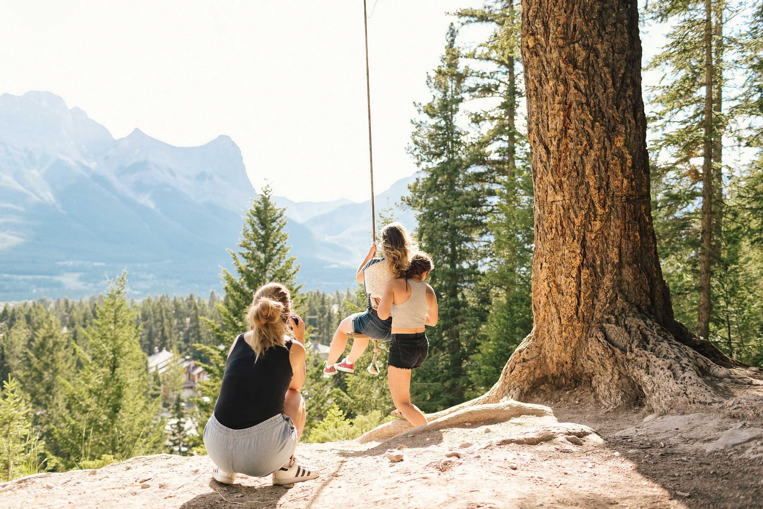 The best photo spot in Canmore, Alberta, Canada