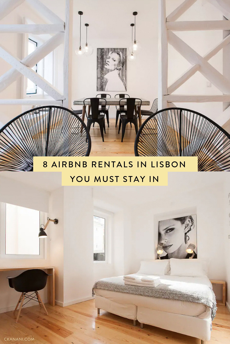 Heading to Lisbon and looking for a place to stay? Here are some of the best Airbnb rentals in Portugal's beautiful capital! #lisbon #portugal #airbnb #travel #bairroalto #alfama