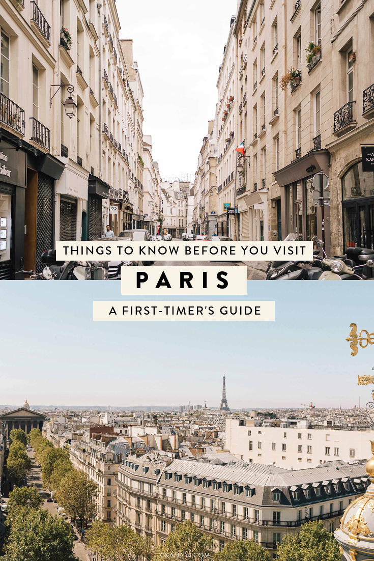 A first-timer's guide to visiting Paris - what to know before you visit. How to get to Paris, how to get around, where to stay, how much to tip, and more! #paris #travel