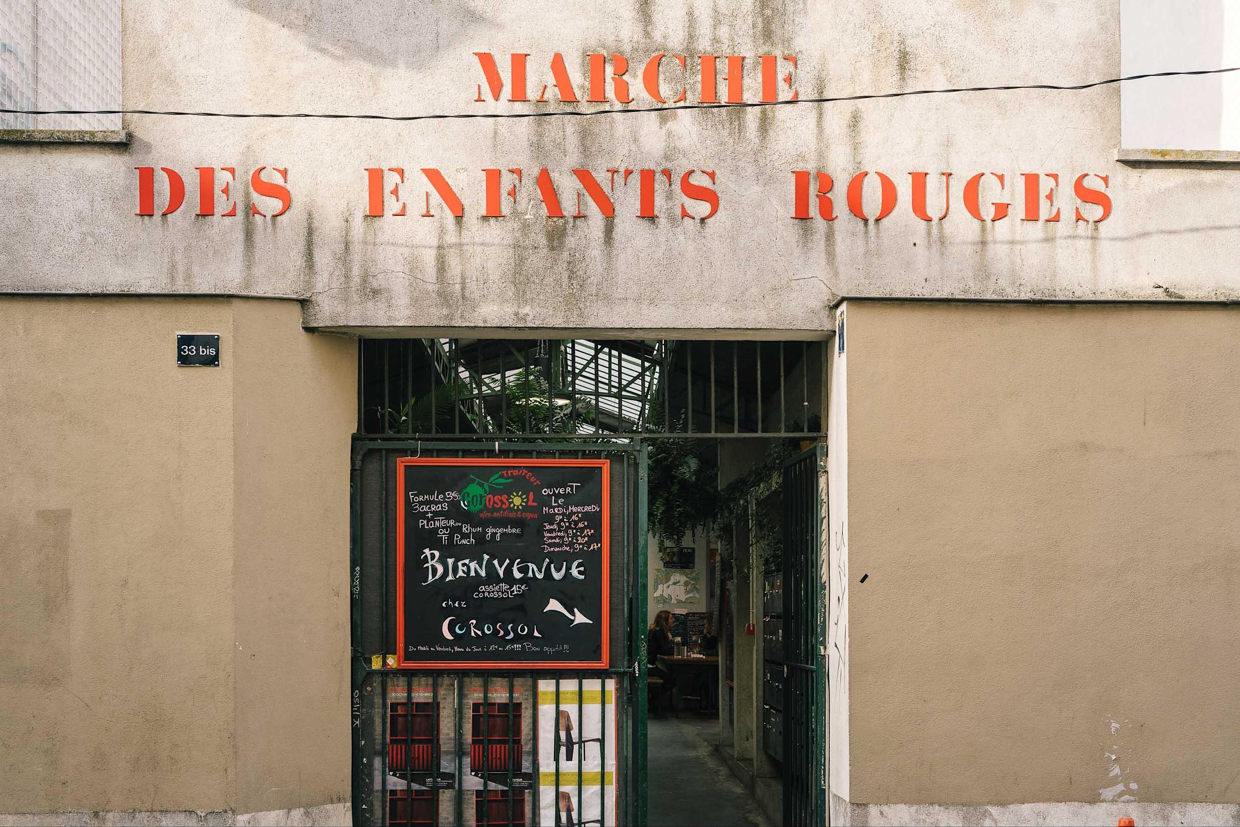 MARCHE DES ENFANTS ROUGES