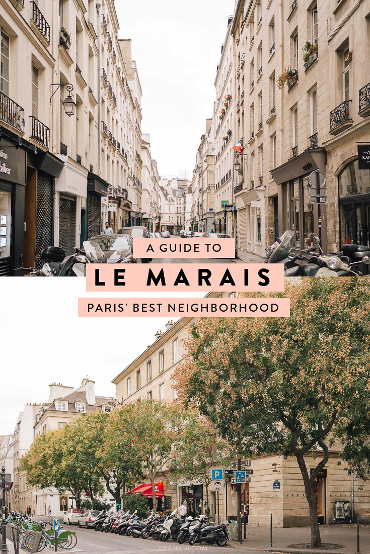 Everything you need to know about visiting Paris' best neighborhood, Le Marais, including where to stay, where to eat, and what to do. #paris #lemarais #france