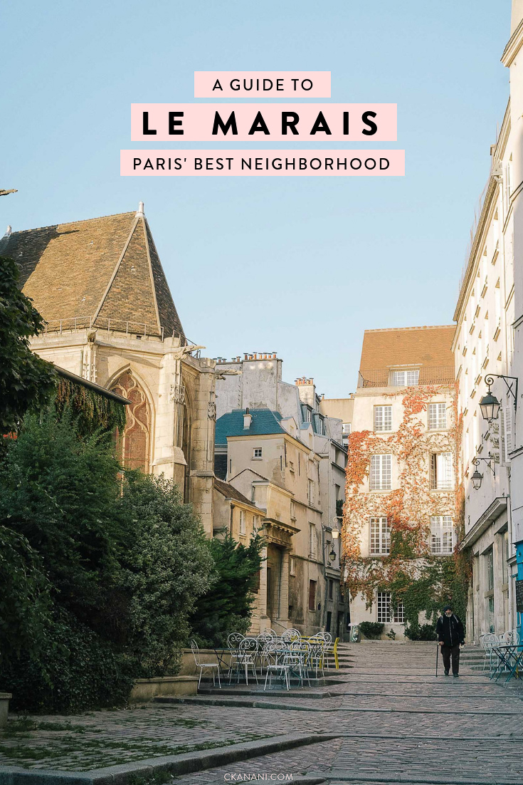 Everything you need to know about visiting Paris' best neighborhood, Le Marais, including where to stay, where to eat, and what to do. #paris #lemarais #france #marais