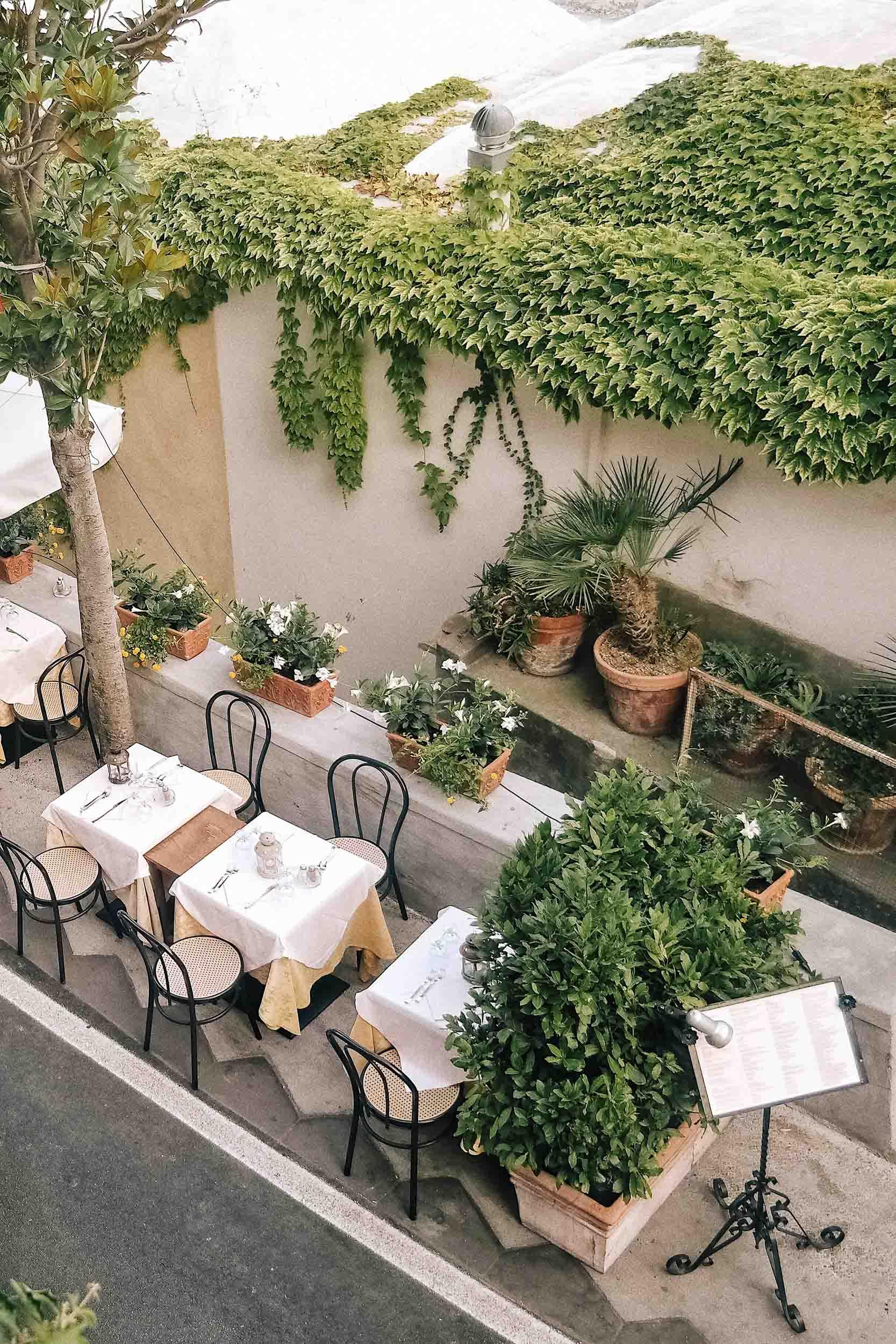 Views of Saracena d'Oro from Dimora del Podesta. The best pizza in Positano, Italy!