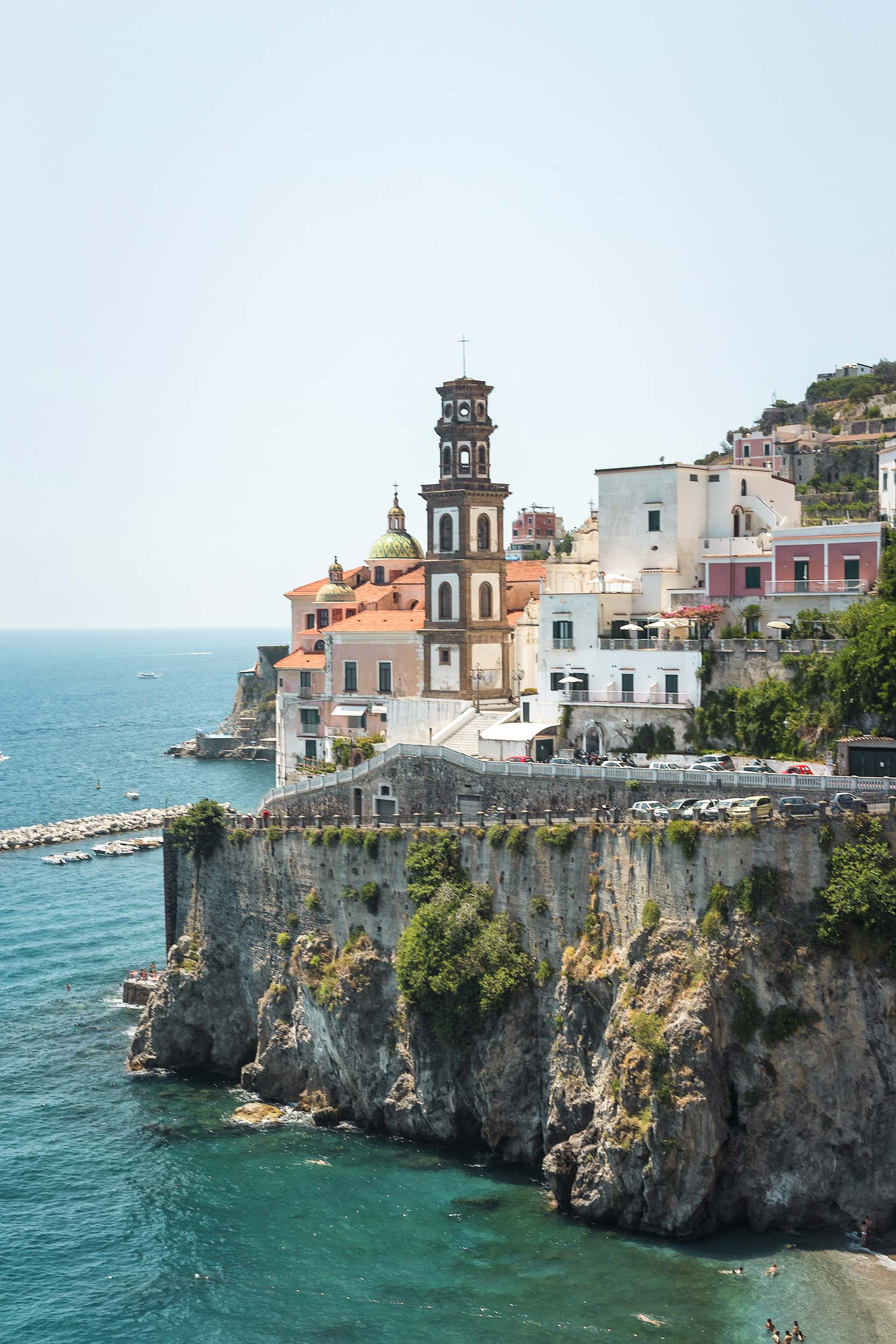 What to do in Positano: Explore each town on the coast!