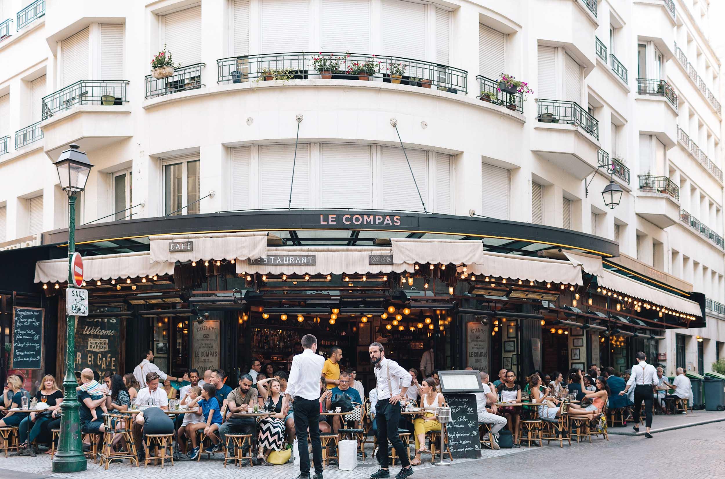 Le Compas in Paris' 2nd Arr.