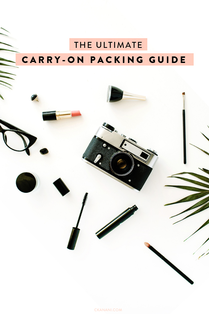 Tips for what to pack in your carry-on bag for a short or long-haul flight, including a free printable checklist! The ultimate packing guide. #carryon #travel #packing #freebie #packinglist
