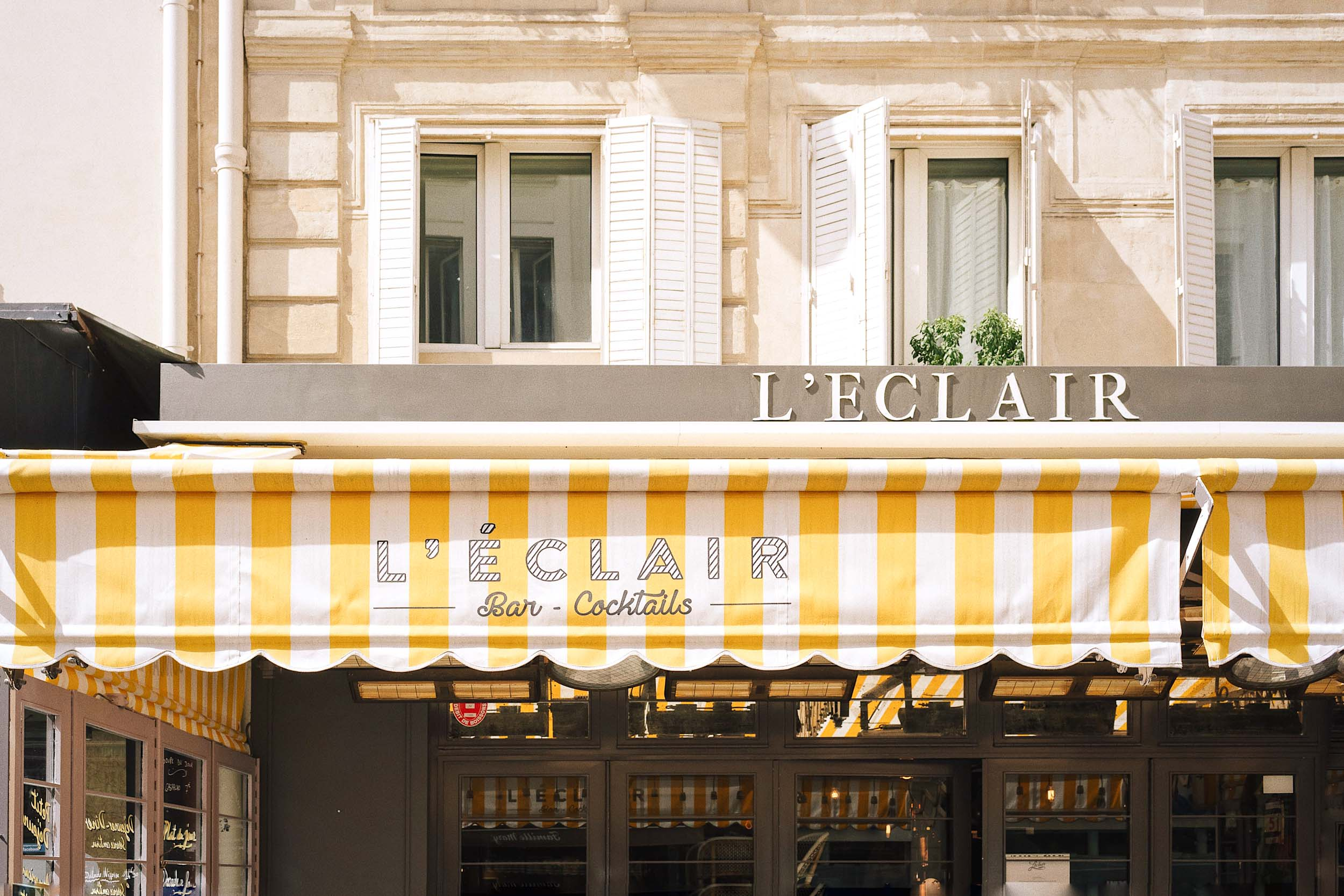 Paris walking tours: take yourself on a self-guided tour to L'Eclair bar on famous Rue Cler