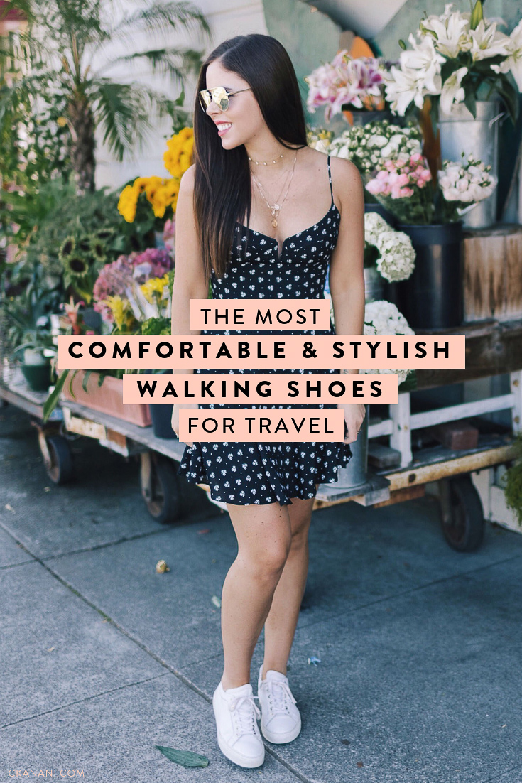 The most comfortable stylish walking shoes for travel! The best travel sneakers - handmade of Italian leather and perfect for everyday. #travel #shoes #mgemi #sneakers #packing