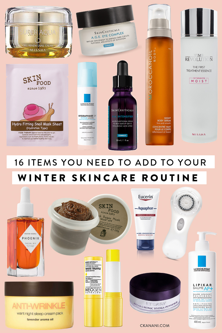 16 Skincare Items You Need To Add To Your Winter Routine Ckanani