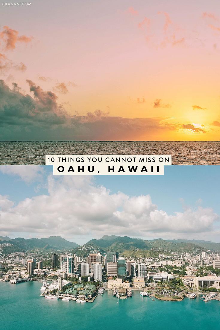 A local's guide to the top 10 things to do on Oahu, Hawaii. See Honolulu, Waikiki, the North Shore, swim with dolphins, and more. #oahu #hawaii #honolulu #itinerary #waikiki #travel #tripideas