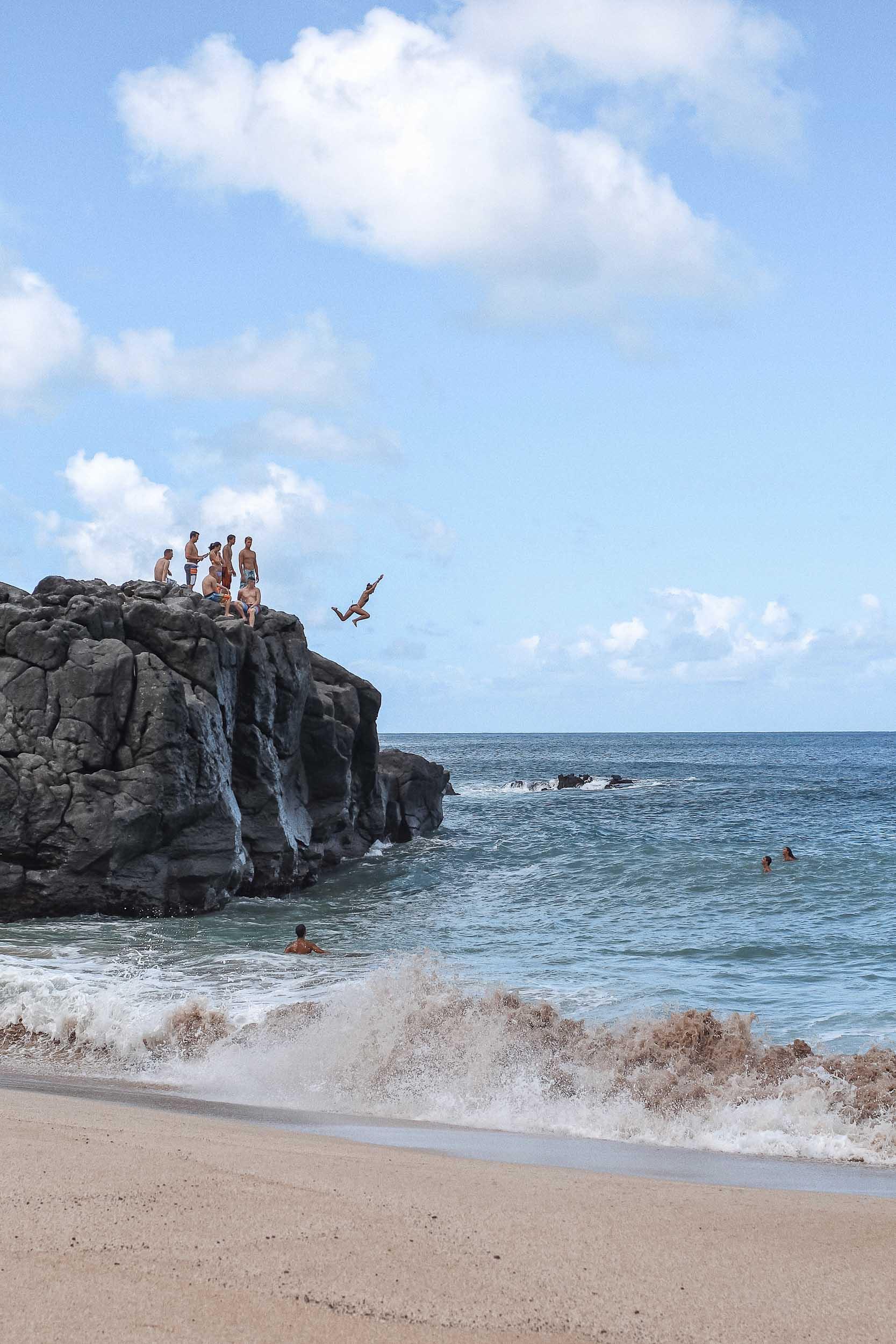 Waimea Bay on Oahu's North Shore