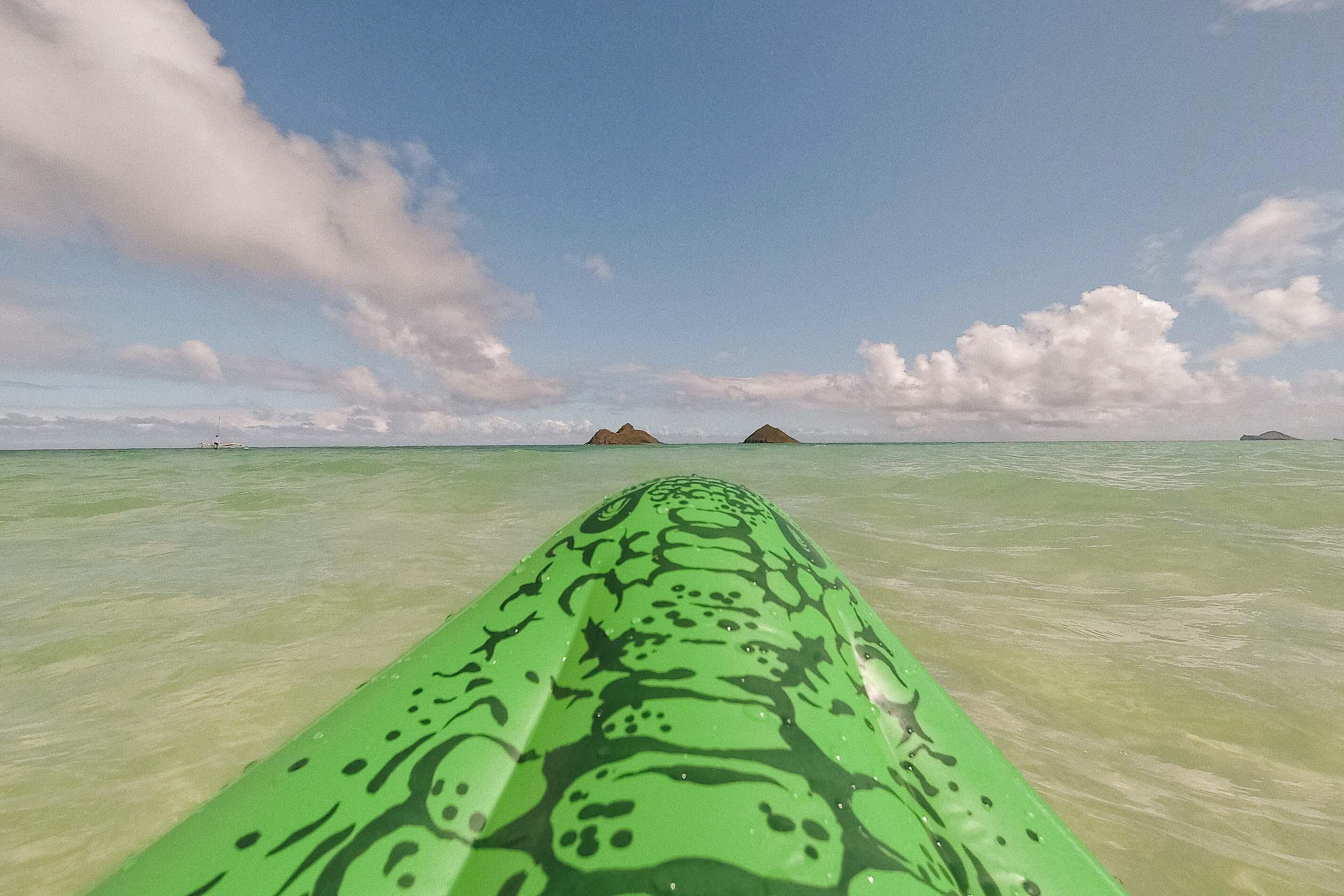 Floatie time at Lanikai