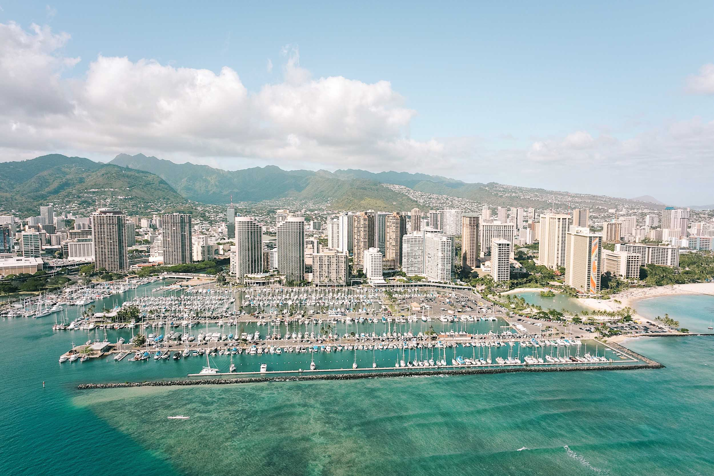 One of the top 10 things to do in Hawaii - a doors off helicopter tour