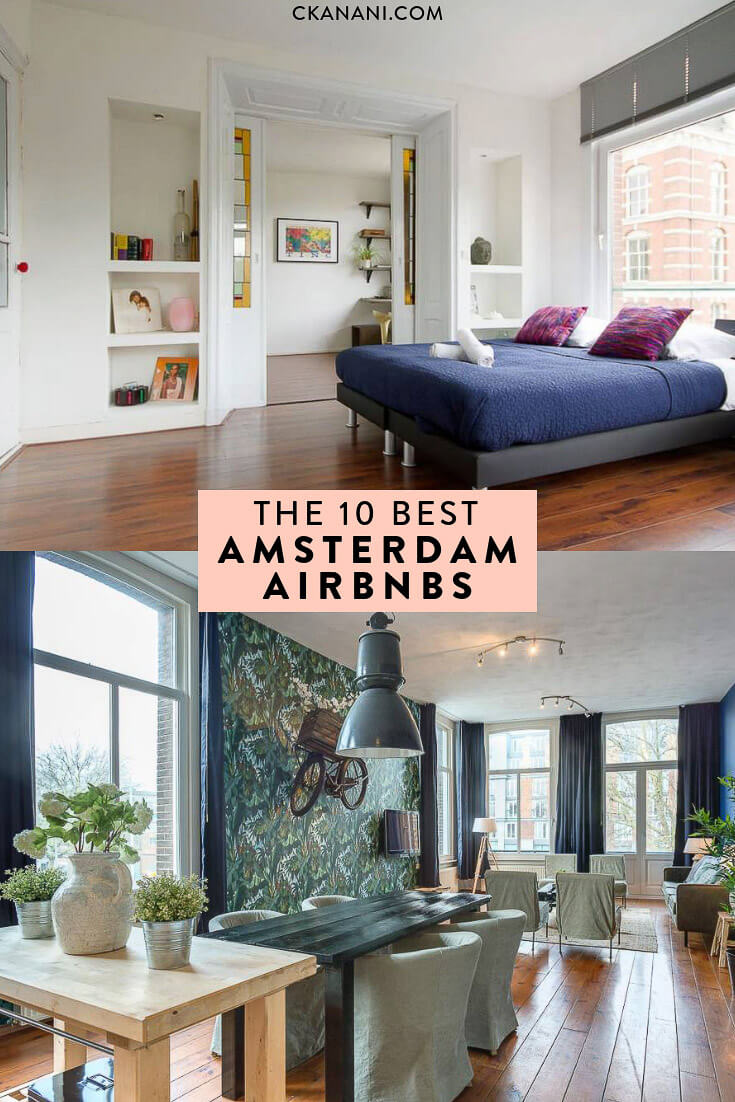 Searching for the best Airbnb Amsterdam? Here are the 10 best Airbnb Amsterdam city centre options! #amsterdam #airbnb #jordaan #holland #travel